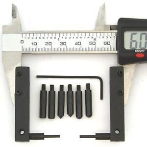 Caliper Attachment Accessory Set Vernier Dial Digital Points Face Kit