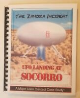 UFO LANDING AT SOCCORO: Zamora Incident Book from Blue Planet Project