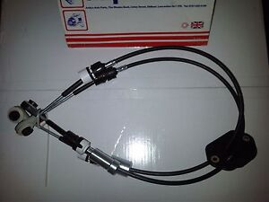 FORD TRANSIT MK7 2.2 TDCi 6 SPEED FWD 2006>2014 TWIN GEAR CHANGE SELECTOR CABLE