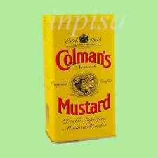 COLMAN'S 2 Tins x 16oz  ENGLISH MUSTARD POWDER ORIGINAL IMPORTED From UK