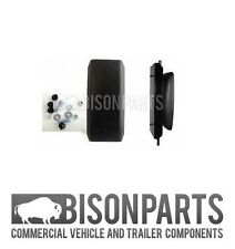 +Universal Truck Mirror Guard Size 600x220mm (Aluminium) DAF Ford Iveco MAN Merc