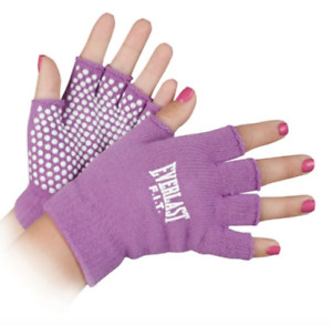 Authentic EVERLAST FIT YOGA GLOVES One Size ANTI-SLIP BREATHABLE  LIGHTWEIGHT