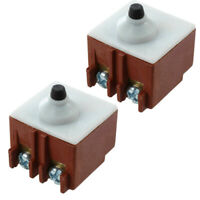 2pcs/set Push Button Switches For BOSCH GWS 6 - 100 Angle Grinder High Quality