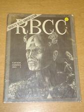 RBCC ROCKETS BLAST COMIC COLLECTOR #67 VG US FANZINE CAPTAIN AMERICA