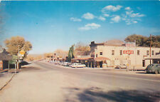 BEATTY, NEVADA - STREET VIEW - WAG N WHEEL - VINTAGE POSTCARD VIEW