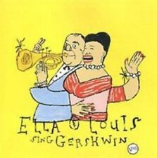 Our Love Is Here to Stay: Ella & Louis Sing Gershwin by Ella Fitzgerald (CD, Jan-1998, Verve)