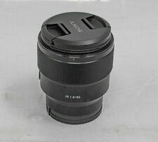 New listing Sony Alpha Digital Fe 85mm F1.8 Single-Lens Interchangeable Mount Lens -Ib0215