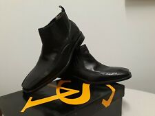 Stacy Adams Black Hamill Leather Slip On Ankle Boots Mens Sz 11M
