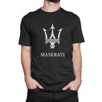 Maserati Sport Car Logo Men's T-Shirt S to 3XL