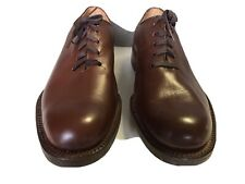 Vintage Thayer McNeil FULL CUT Golf Shoes Metal Spikes - Men's 7