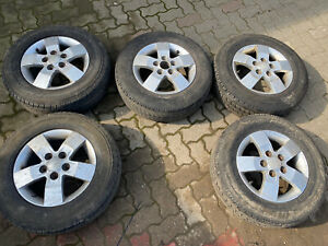 Fiat Ducato Peugeot Boxer Citroen Relay 15 Inch 205/70/15c 5x118 Alloy Wheels