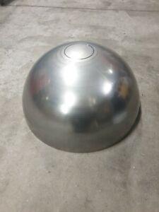 V2A Edelstahl Halbkugel Durchmesser Ø 400mm Dicke 3mm