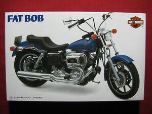 Harley Davidson Fat Bob FXE/F-80 1/12 Imai Model Kit Japan 1996 Vintage Bike