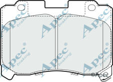 FRONT BRAKE PADS FOR TOYOTA SUPRA GENUINE APEC PAD865