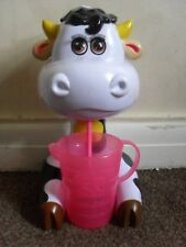MOLLY THE COW KIDS ELECTRONIC MILKSHAKE MAKER MIXER MAKES A MOOING SOUND