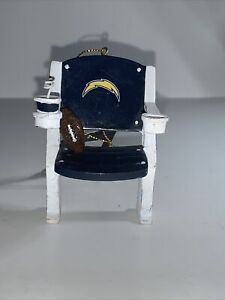 Los Angeles Chargers Stadium Chair Christmas Ornament Holiday Figurine San Diego