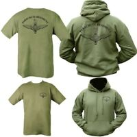 PARACHUTE REGIMENT GIFT PACK HOODIE & T-SHIRT MENS S-2XL BRITISH ARMY PARA PARAS
