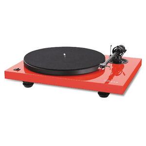Music Hall MMF 2.2 Turntable in Gloss Red inc Magic 2 Cartridge