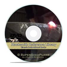 Blacksmith Books, Learn Forging, Steel Iron Working, Horseshoeing, CD DVD V30