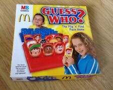 MCDONALDS HAPPY MEAL GUESS WHO? TRAVEL SIZE GAME FROM 2009    LIKE NEW CONDITION
