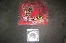 SUZUKI RM 125-250 DRZ 400 SET OF SPROKETS  50 AND 13  TEETH