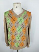 MARLBORO CLASSICS LANA CASHMERE WOOL Maglione Cardigan Sweater  Tg XXL Uomo C