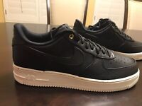 New Nike Air Force 1 Premium Black Pack Sneaker Shoes Size US 11
