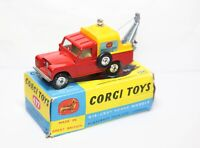 Corgi 477 Land Rover Breakdown Truck In Its Original Box - Near Mint Vintage