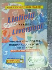 1995 Linfield v Liverpool, 14 Aug (Gala Exhibition Match)