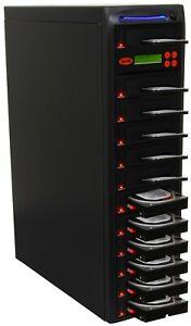 "SySTOR 1:11 SATA 2.5&3.5"" Dual Port Hard Drive Duplicator/Wipe -Hi Speed 150MB/s"