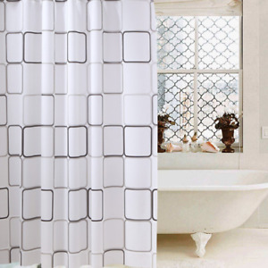 Tenda da doccia vasca misure 240x200cm impermeabile con anelli Novità