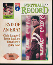 1995 AFL Football Record Geelong Cats v Fremantle Dockers Aug 12  unmarked