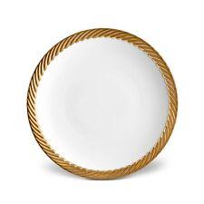 L'Objet Corde Dinner Plate - Set of 4 (Gold)