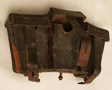 Original WW2 German Leather Ammo Pouch Kar98 Mauser