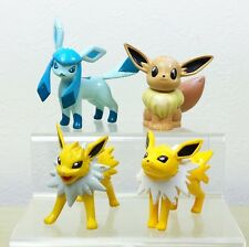 Pokemon TOMY Monster Collection Eevee Jolteon Glaceon Set of 3