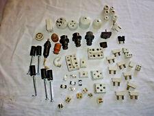 ancien lot électricité divers porcelaine et bakelite en l'état