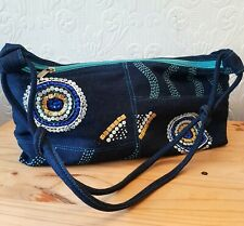 Ladies DENIM Shoulder Bag by VIP BNWOT Embellished Beaded
