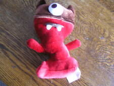 Starbucks Coffee Company 2006 Red & Brown Plush CYCLOPS One~Eyed Monster Toy