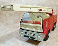 Vintage Tonka Fire Truck Hook And Ladder Stamped Metal 1960'S
