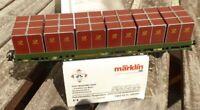 Märklin 48584 PMS 63-11 Paketbehälter-Tragwagen Deutsche Bundespost DBP in OVP