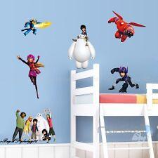 Big Hero 6 Removable Wall sticker Decals Kids Decor Home Art