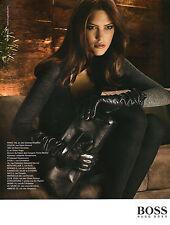 Publicité 2008 HUGO BOSS sac à main collection pret à porter vetement mode