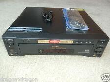 Sony mdp-850d high-end laser disc player, Incl. FB NUOVI, 2 ANNI GARANZIA
