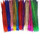 Colour Pheasant Tail Feathers 10'' - 12'' Arts Crafts Hat Costume Wedding Fly UK