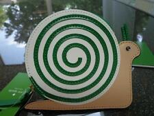 Kate Spade New York Turn Over a New Leaf Snail Coin Purse CUTE!! ~NWT~