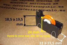 10 RUEDAS DE VENTANAS CORREDERAS P4N repuestos aluminio pvc rodamientos climalit