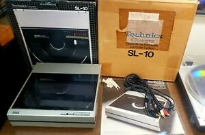 Technics SL-10 Turntable  with Original Box