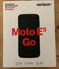 Verizon Prepaid Motorola Moto E5 Go Smartphone - 16 Gb Black 4G Lte Android Go