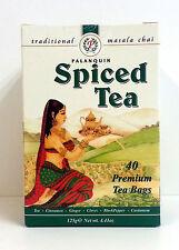 Palanquin Masala Chai Spiced Tea 40 bags/125 grams