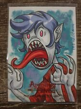 Adventure Time Sketch Card 1/1 Fer Galicia 2014 Cryptozoic.